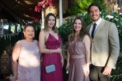 Meire Amaral, Flávia Aquino, Helena Teófilo e Daniel Brenner