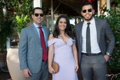 Renan Tomaz, Erica Rosa e Caio Farias