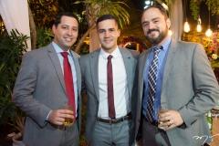 Renan Tomaz, Yuri Cruz e Carlos Eduardo Teixeira