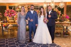 Sandra Marcos, Filipe Távora, Danielle Nina e Marcio Alessandro