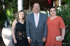Socorro Guerreiro, José Nilton e Flora Lima