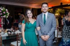 Jaqueline Meirinho e Alison de Melo