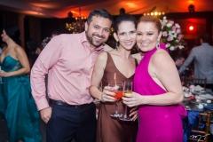 Junio Ribeiro, Natália Franklin e Cibele Thomaz