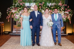 Rayana Thomaz, André Luiz e Rayssa Thomaz e Bruno