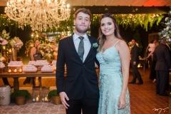 Rodrigo Faria e Maria Eduarda Veras