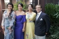 Barbara Linarde, Flavia Beltrão, Gloria Burlamaque e Lapo Lazati