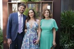 Guilherme Landim, Shesla Almeida E Gislaine Landim