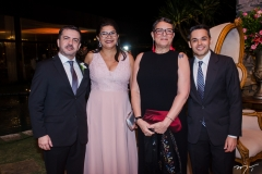 Amalri Gurgel, Alba Mendonça, Ione Pereira e José Carlos Rodrigues