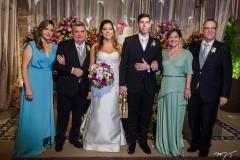 Ana Maria Silveira, Arievlis Silveira, Carol Moreira, Eduardo Romcy, Graça e Jorge Romcy