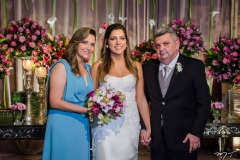 Ana Maria Silveira, Carol Moreira e Arievlis Silveira