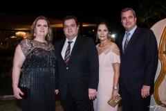Ania Freire, René Freire Jr, Tatiana e Kalil Otoch