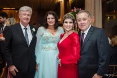 Carlos Maia, Cristiane Boris, Gisele e Adalto Bezerra Jr