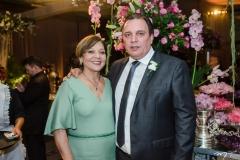 Graça Romcy e Rogério Ferreira