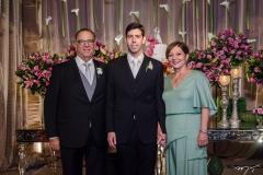 Jorge, Eduardo e Graça Romcy