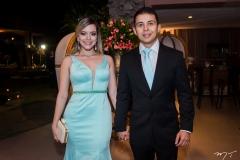Renato Texeira e Monique Cavalcante