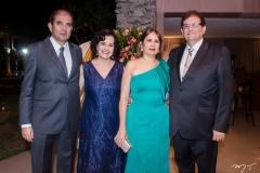 Sergio Otoch, Maria de Lourdes Otoch, Suely e Francisco Kubrusly