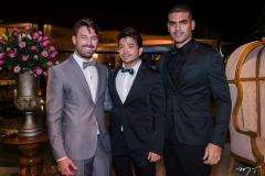 Thiago Maciel, Rafael Gualberto e Marcos Maciel