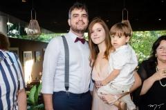 André Fernandes, Ivana Amorim e Ton Fernandes Amorim