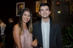 Manuela Ferro e André Calheiros