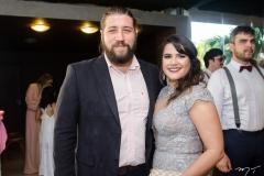 Nicolas e Gabriela Parente