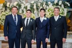 Alexandre, André, Eduardo e Maurício Sleiman