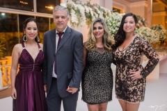 Ana Luiza, Antônio Sávio, Renata Andrade e Amanda Floreano