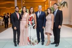 Breno Gurgel, Cecília Veríssimo, Verônica Veríssimo, Antônio Veríssimo, Germana Maciel e Vitor Veríssimo