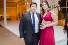 Fernando Lima e Ivina Silveira