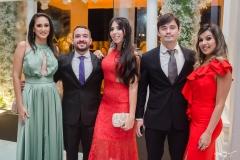 Gerlani Carvalho, Átila Barbosa, Jaqueline Oliveira, Rodrigo Sousa e Virginia Carvalho