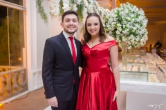 João Gabriel Damasceno e Sarah Soares