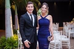 Rafael Esmeraldo e Rebeca Aguiar