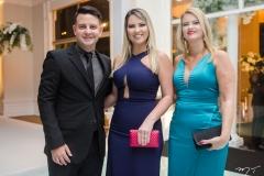 Renato Tavares, Amanda e Karine Xerez