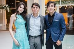 Samia Lima, Rodrigo Saraiva e Paulo Saraiva