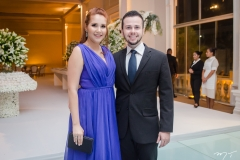 Thais Rocha e Wesley Queiroz