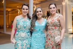 Vanessa Nobre, Suzane Oliveira e Emanuela Nobre