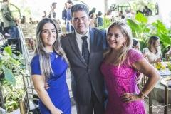 Roberta Menezes, Saulo Menezes e Beth Pinto