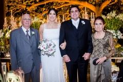 Adriano e Lara Pouchain, Rivaldo Holanda e Maritis Pouchain