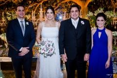 Alessandro Fidelix, Lara, Rivaldo e Viviane Fidelix