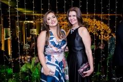 Ana Pouchain e Mônica Pontes
