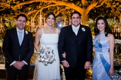 Andrei Fernandes, Lara, Rivaldo e Livia Fernandes
