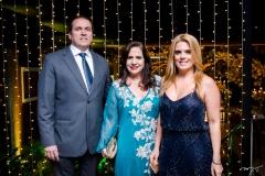 Jorge e Martinha Assunção e Letícia Studart