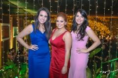 Lara Morais, Isabela Lira e Natalia Moreno