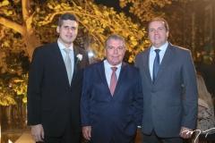 Luciano Bonfim, Ricardo Studart e George Assunção