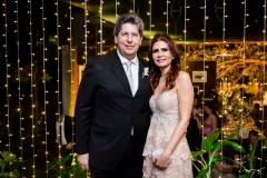 Lúcio Bonfim e Lorena Pouchain