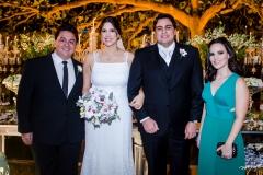 Marcelo Pimentel, Lara, Ricardo e Juliana Nosterni