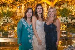 Martinha Assunção, Lorena Pouchain e Leticia Studart