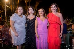 Helena-Diogo, Claudia-Gradvohl, Almerinda-Oliveira-e-Cristiane-Farias