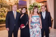 Junior, Fátima Castro, Tereza Mendes e Carlos Alberto Castro (1)