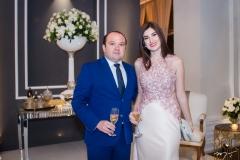 Luiz Aragão e Naiara Barroso
