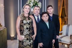 Rejane Carneiro, Humberto Almeida, Humberto Neto e Vinícius Almeida